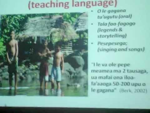 Importance of the Samoan Language - Dr. Salu Hunkin-Finau
