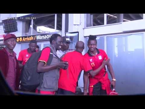 Cheki Kikosi cha UGANDA Kilivyotua Airport DSM