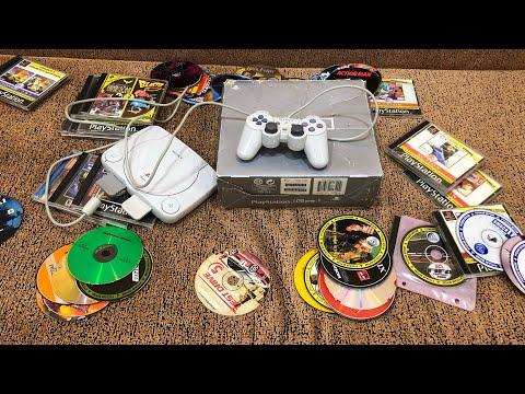 Старушка PS1. Распаковка и тест игр!