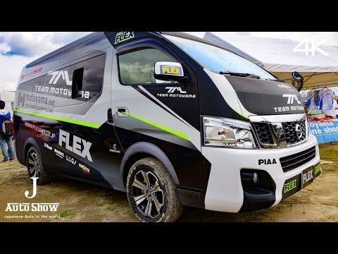 (4K)FLEX TEAM MOTOYAMA NISSAN NV350 URVAN CARAVAN - YouTube