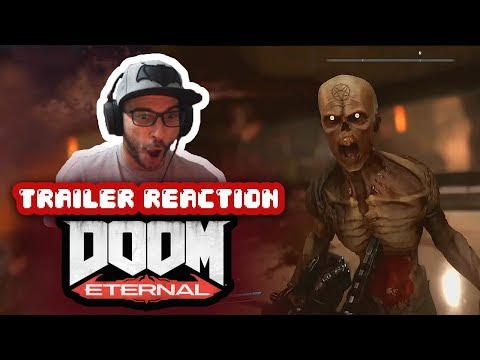 REACCIÓN: DOOM Eternal – Official Gameplay Reveal (PC/PS4/XBOX)