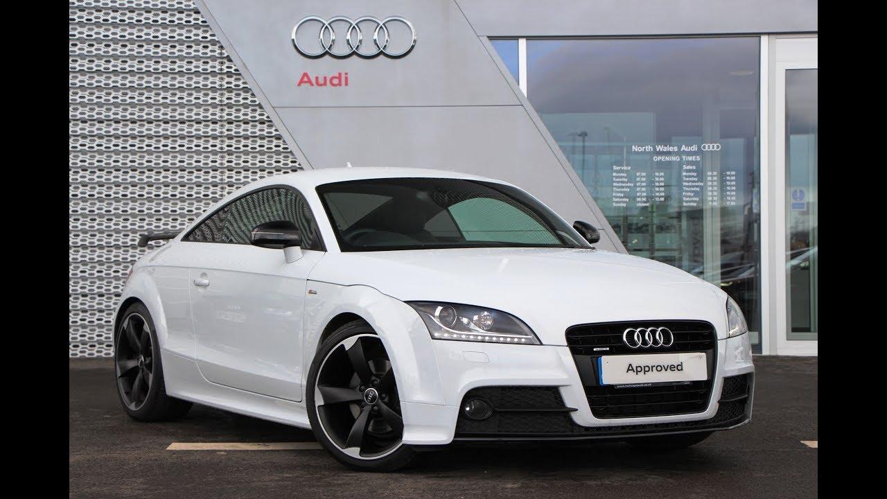 Wm62vmf audi tt tts tfsi quattro black edition white 2012.