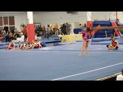 Georgia Level 5 Floor Routine 1st Place 9 8 Youtube