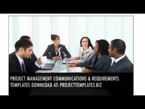 Project Management Communications & Requirements Templates