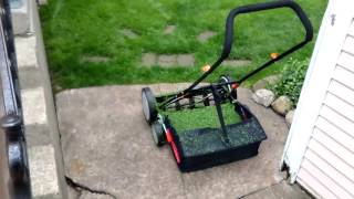 Remington 18 inch reel push mower review