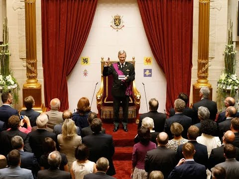 The Swearing-In of King Philippe of Belgium 2013