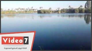 أهالى يزعمون: ماء بحيرة فى بنى سويف يشفى أطفالنا من الأمراض