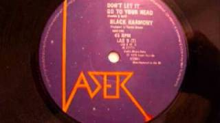 Black Harmony - Don