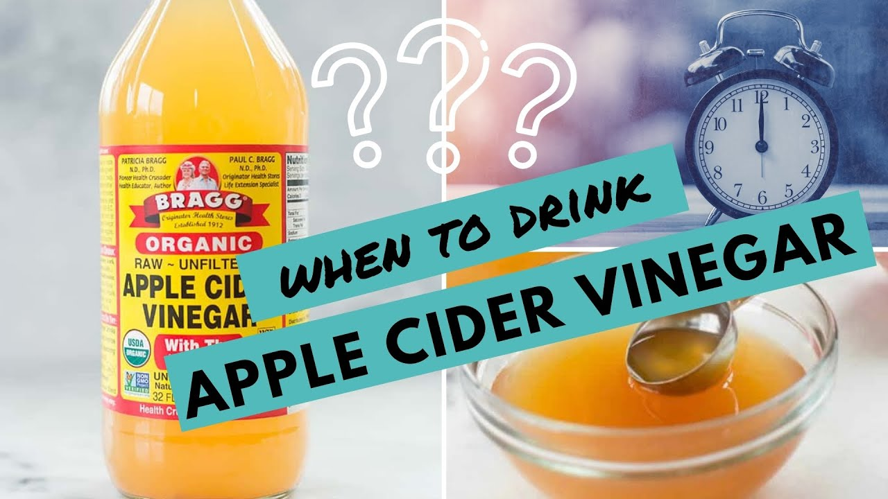 When To Drink Apple Cider Vinegar For Weight Loss My Tips For Best Results Youtube
