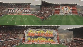 Incroyable Tifo des Ultras Inferno !