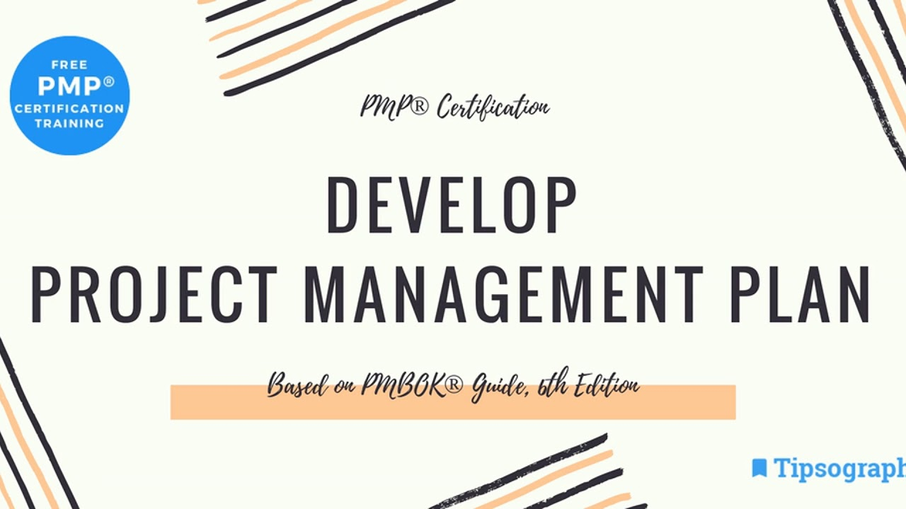 Pmp Exam Prep Develop Project Management Plan Httpbit