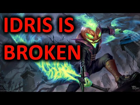 Idris Secretly BROKEN?!? Vainglory 5v5