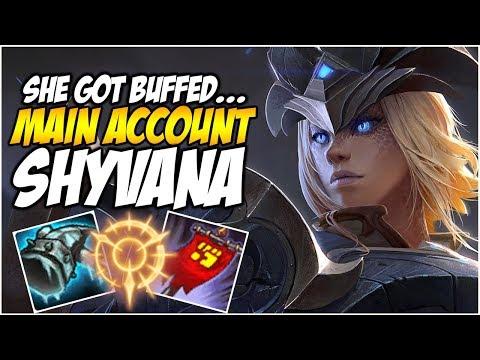 SHYVANA GOT BUFFED!! - Climb to Master S8   League of Legends