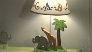 Teamson Kids Alphabet Table Lamp - Product Review Video