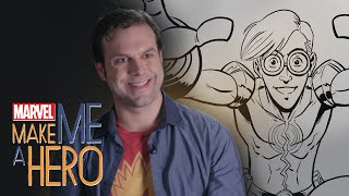 Turning Nerves Into Earthquakes | Marvel Make Me a Hero