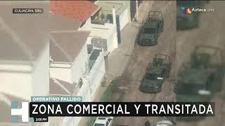Bloqueos y balaceras en Culiacán