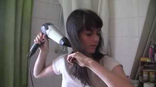 ASMR Blowdrying my Hair Again