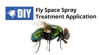 Fly Space Spray Treatment Application