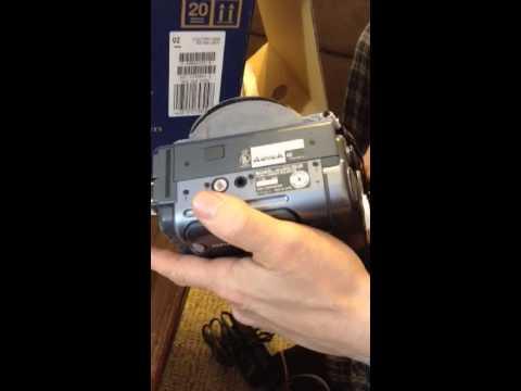 sony video camera trv128 tape removal