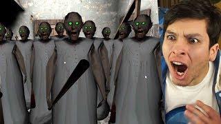 DESCUBRO A TODAS LAS GRANNY !! ¿SON CLONES? OMG - Granny (Horror Game)