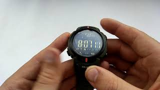водонепроницаемые смарт часы Skmei 1301 (начинка 1227) обзор, настройка, инструкция на русском