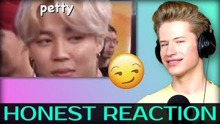 Gambar cover HONEST REACTION to jimin being petty/sassy af