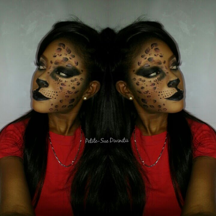 Sexy Cat Leopard Halloween Makeup - YouTube