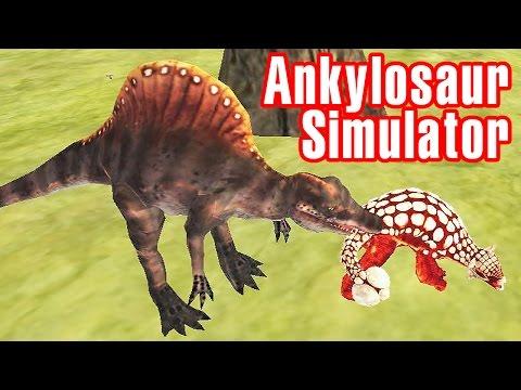 Dino Ankylosaurus Simulator Gameplay | Eftsei Gaming