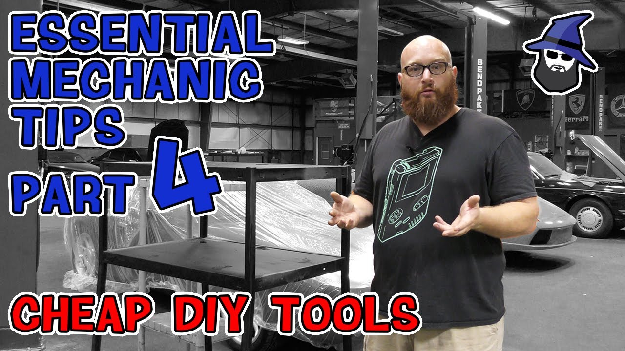 Part 4: The CAR WIZARD shares 10 DIY tools he can't live without in his shop!