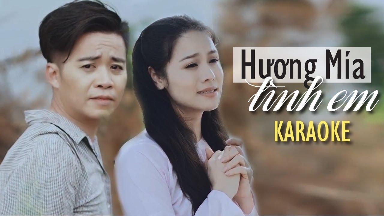 Karaoke Hương Mía Tình Em - Anh Quân Bolero ft Nhật Kim Anh