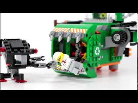 LEGO The Lego Movie Trash Chomper Set Review LEGO 70805