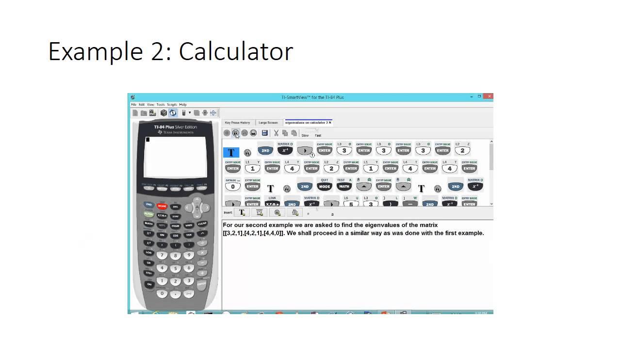 Eigenvalue Calculator