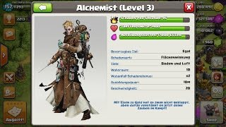 NEUE TRUPPE: ALCHEMIST - CLASH OF CLANS UPDATE IDEE! [Deutsch/German HD+]