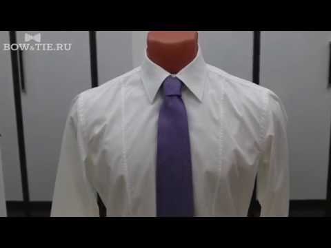 Как завязать галстук - схема