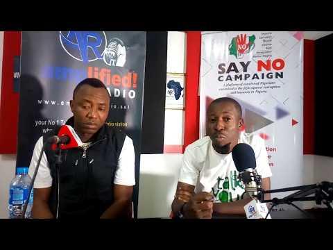 FemiDlive Interviews Sahara Publisher, Sowore Omoyele