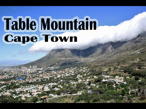 Table Mountain National Park Top Attractions In South Africa - Table top mountain south africa
