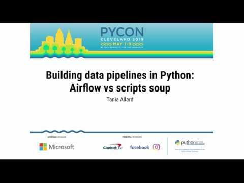 Image from Building data pipelines in Python: Airflow vs scripts soup