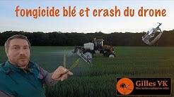 Protection des blés et crash du drone