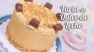 Tarta de Dulce de Leche (cajeta o manjar)   Quiero Cupcakes!