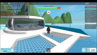 shark bite (roblox) sharks!!!! gameplay you have to see this this is my first game