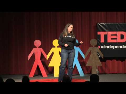 Sex worker - the truth behind the smile | Antoinette Welch | TEDxAntioch
