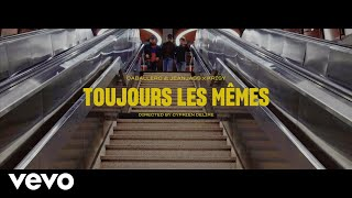 Смотреть клип Caballero & Jeanjass Ft. Krisy - Toujours Les Mêmes