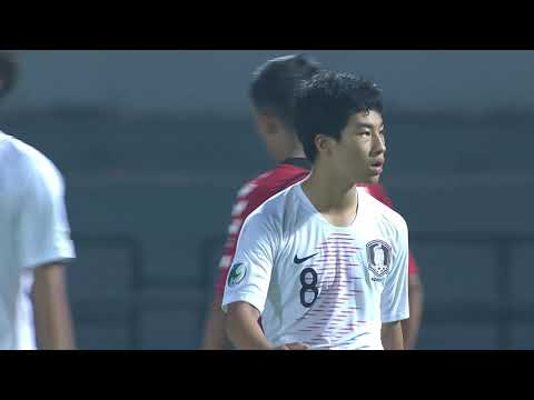 Afghanistan 0-7 Korea Republic (AFC U16 Malaysia 2018 : Group Stage)