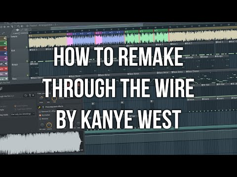 Download How to remake Through The Wire by Kanye West [Beat+Samples DL]