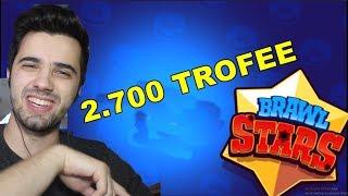 AM AJUNS LA 2.700 TROFEE ! - Brawl Stars