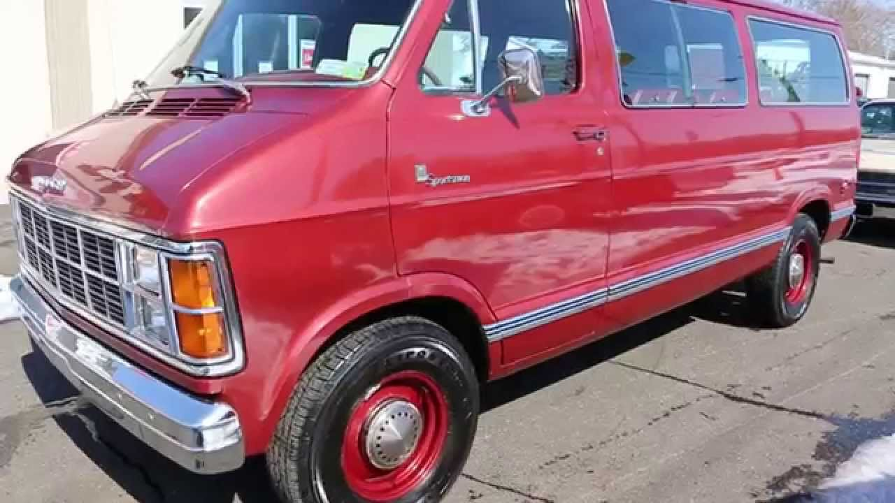 1979 Dodge Sportsman Passenger Van One Owner Only 29 520