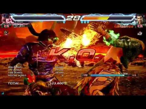 Tekken7 Lei Wulong SUZAKU Rank Match