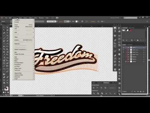 Photoshop & Illustrator - Custom Script Lettering Font Tutorial