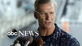 Navy removes commander of 7th Fleet following string of accidents