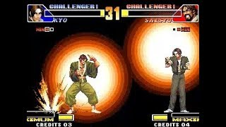 [TAS] Kyo (EX) VS Saisyu (KoF '98)